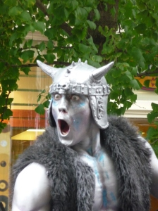 Street Performer in Covent Garden